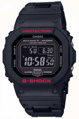 Casio Mens G-Shock Heritage Black Resin Strap Digital GW-B5600HR-1ER