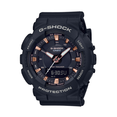 Casio G-Shock Step Tracker Black Resin Strap GMA-S130PA-1AER
