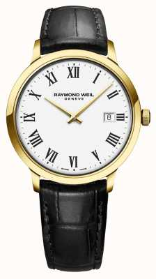 Raymond Weil | Men's Toccata | Classic PVD Gold Case White Dial | 5485-PC-00300