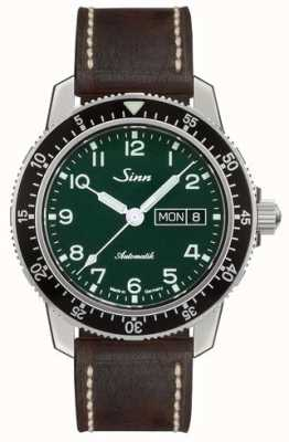 Sinn | 104 St Sa A G Vintage Leather Dark Brown | Limited Edition 104.0111 DARK BROWN COWHIDE