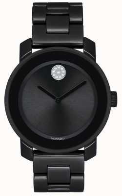 Movado | Bold | Black PVD Plated Bracelet | Black Dial | 3600535