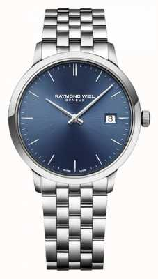 Raymond Weil | Men's Toccata | Classic Stainless Steel | Blue Dial | 5485-ST-50001