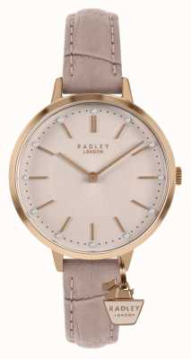 Radley | Womens Nude Leather Strap | Pink Dial | RY2802