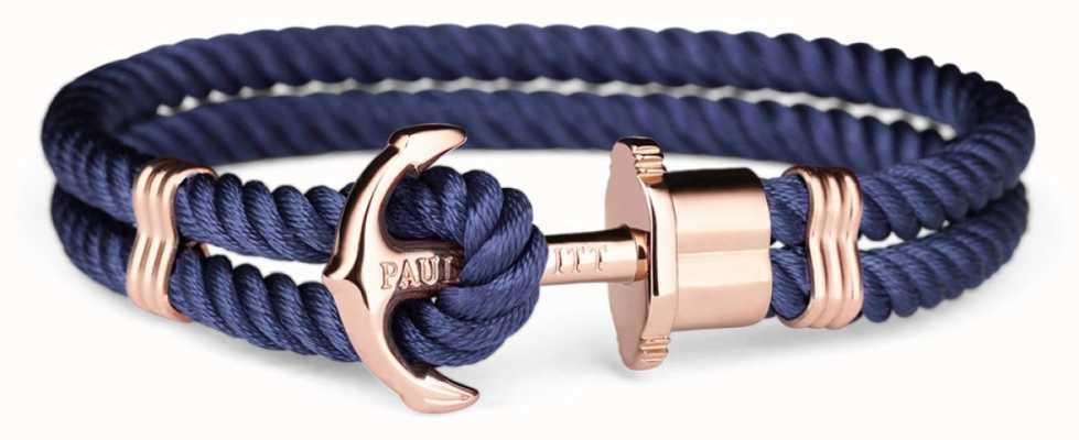 Paul Hewitt | Unisex Rose Gold And Blue Bracelet | PH-PH-N-R-N-L