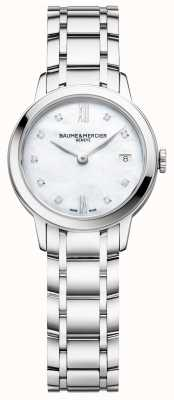 Baume & Mercier | Womens Classima | Stainless Steel | Mother Of Pearl Dial | BM0A10490