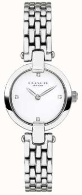 Coach | Womens | Chrystie | Steel Bracelet | White Dial | 14503390
