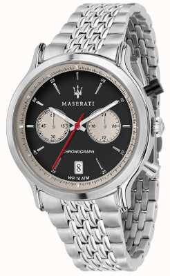 Maserati | Epoca Racing 42mm | Stainless Steel Bracelet | Black Dial R8873638001