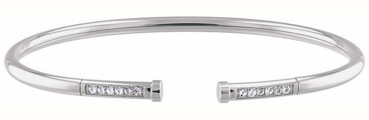 Tommy Hilfiger Classic Signature | Stainless Steel Flex Bangle 2780250