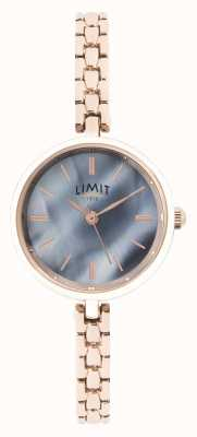 Limit | Womens Rose Gold Bracelet | Blue Dial | 60064.01