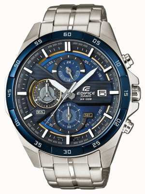 Casio | Edifice Chronograph | Stainless Steel | Blue Dial | EFR-556DB-2AVUEF