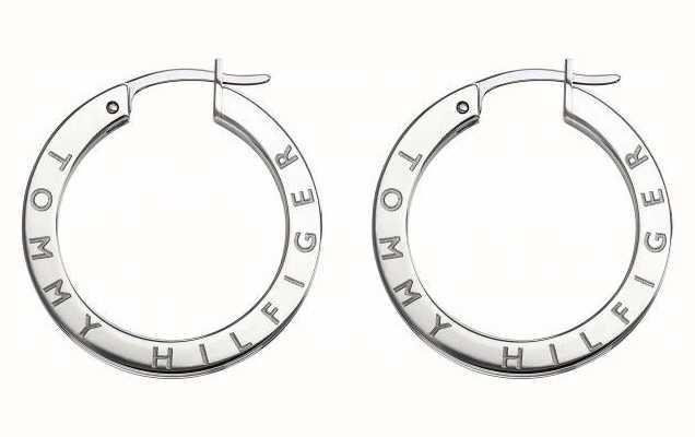 Tommy Hilfiger Womens Stainless Steel Crystal Set Earrings 2780205