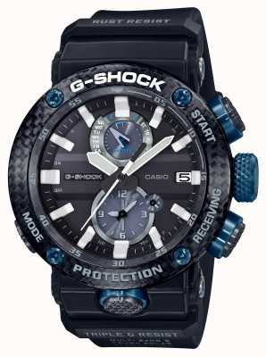 Casio Men's Carbon Core Guard G-Shock GravityMaster Bluetooth GWR-B1000-1A1ER