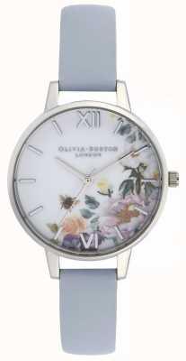 Olivia Burton   Womens   Enchanted Garden   Chalk Blue Strap   OB16EG114