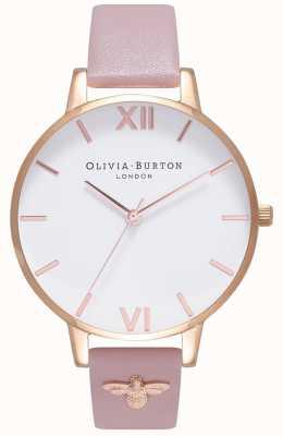 Olivia Burton | Womens | 3D Bee | Embellished Leather Strap | OB16ES15