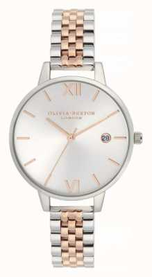 Olivia Burton   Womens   Demi Date   Two Tone Stainless Steel Bracelet   OB16DE06