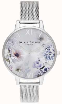 Olivia Burton   Womens   Sunlight Florals   Steel Mesh Bracelet   OB16EG117