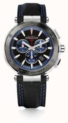 Michel Herbelin | Men's | Newport | Blue And Black Chronograph | 37688/AG65