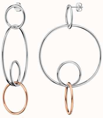 Calvin Klein | Womens Clink | Stainless Steel Hoop Earrings | KJ9PPE200100