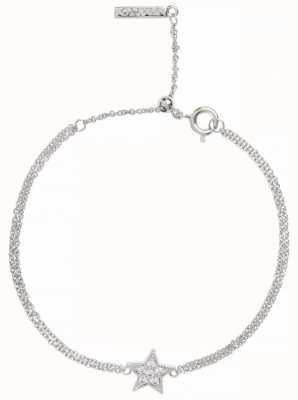 Olivia Burton | Celestial Star | Silver | Chain Bracelet | OBJ16CLB03