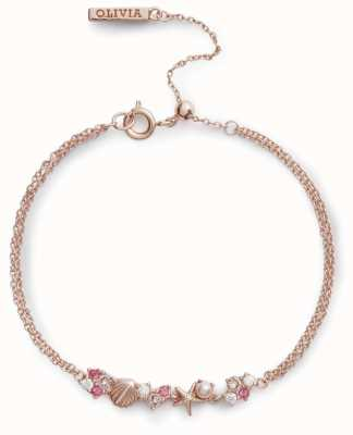 Olivia Burton | Under The Sea | Rose Gold | Chain Bracelet | OBJSCB03