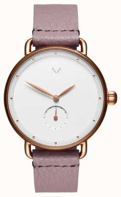 MVMT Bloom Guilded Lilac | Pink Strap | White Dial D-FR01-RGPU