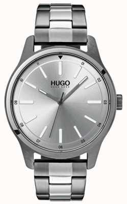 HUGO #dare   Stainless Steel Bracelet   Silver Dial 1530021