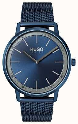 HUGO #exist   Blue IP Mesh   Blue Dial 1520011