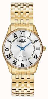 Roamer | Women's | Sonata | Gold Plated Steel | White Dial | 520820-48-15-50