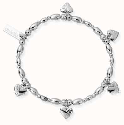 ChloBo | Sterling Silver 'Life Lover' Bracelet | SBLRSR2518