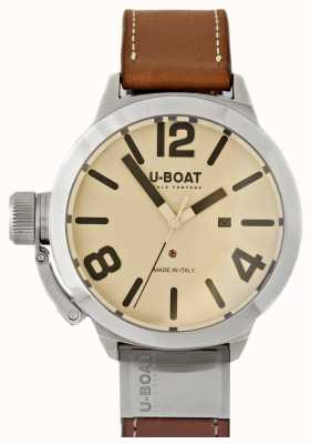 U-Boat Classico 50 Tungsteno AS 2 Cream Dial 8091