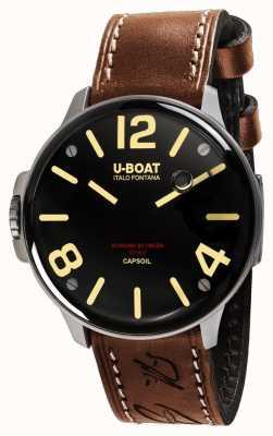U-Boat Capsoil SS Electromechanics Brown Leather 8110/A