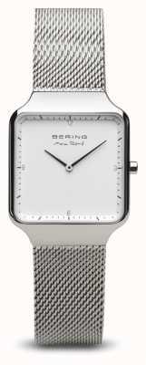 Bering | Max René | Women's Polished Silver | Steel Mesh Bracelet | 15832-004