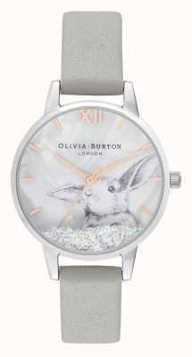 Olivia Burton | Womens | Winter Wonderland |  Snow Globe Crystal Bunny | OB16WL86
