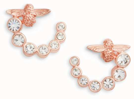 Olivia Burton | Bejewelled Bee Swirl | Swarovski | Earrings | OBJAME162