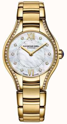 Raymond Weil | Womens | Noemia | Diamond | Gold PVD Bracelet 5124-PS-00985