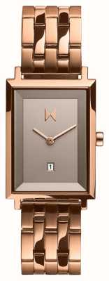MVMT Signature Square | Rose Gold Plated Stainless Steel | D-MF03-RG