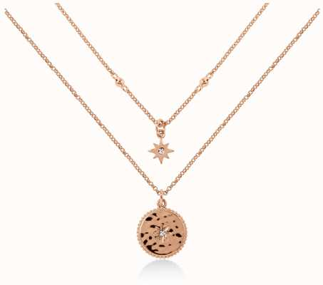 Radley Jewellery Start Gazing | Rose Gold Plated Moon And Stars Necklace | RYJ2104S