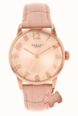 Radley Liverpool Street | Pink Leather Strap | Pink Dial | RY2872