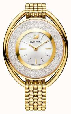 Swarovski Crystalline | Oval | Gold PVD Bracelet | Silver Dial 5200339
