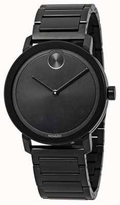 Movado | Bold | Black Stainless Steel Bracelet | Black Dial | 3600538