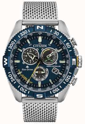 Citizen Mens | Atomic Timekeeping | Promaster Navihawk A.T CB5846-52L