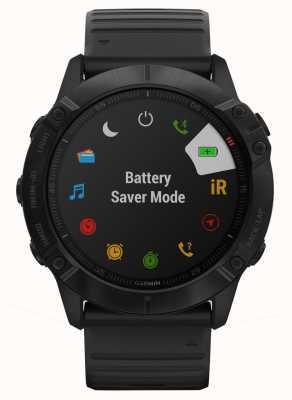 Garmin Fenix 6X Pro | Black Silicone | Multisport Smartwatch 010-02157-01