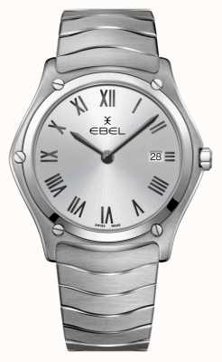EBEL |Men's Sport Classic | Stainless Steel Bracelet |Silver Dial 1216455A