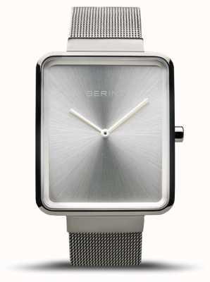 Bering | Men's Classic | Steel Mesh Strap | Silver Dial | 14533-000