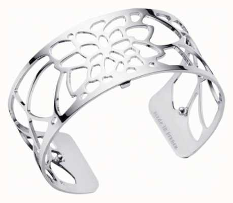 Les Georgettes 25mm Nenuphar Silver Finish Bangle 70295861600000