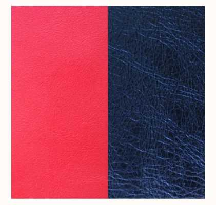 Les Georgettes 8mm Leather Insert | Red/Metallic Navy Blue 703215299BG000
