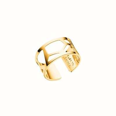 Les Georgettes 12mm Girafe Gold Plated Ring (58) 70296010100058