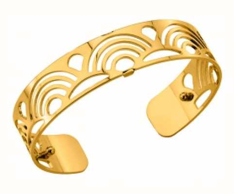 Les Georgettes 14mm Poisson Gold Plated Bangle 70261660100000