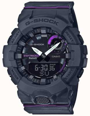 Casio   G-Shock G-Squad   Grey Rubber Strap   Bluetooth Smart GMA-B800-8AER