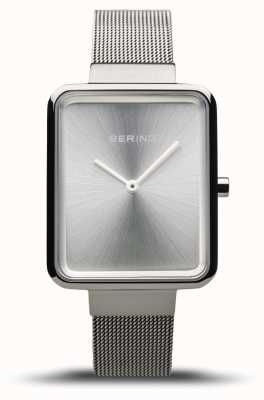 Bering Women's Classic | Polished Silver Mesh | Silver Dial | 14528-000